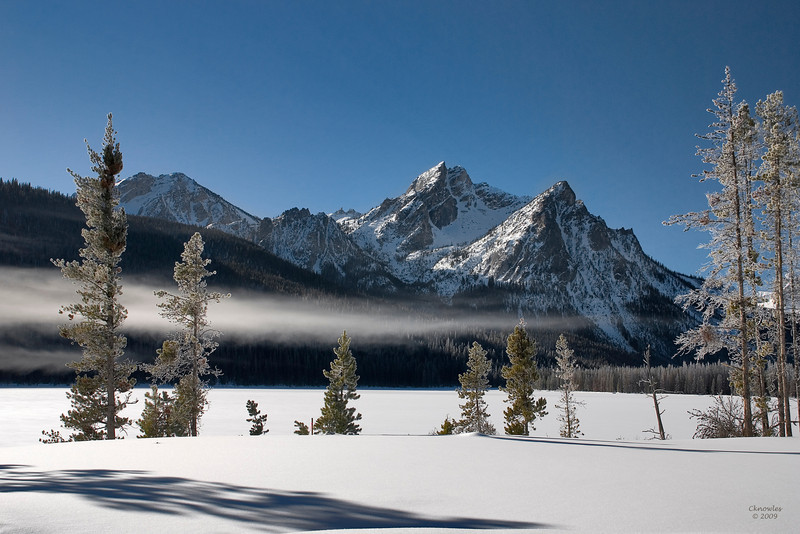 Sawtooth Mountains of Idaho